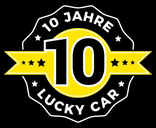 10JahreLuckyCarLogo